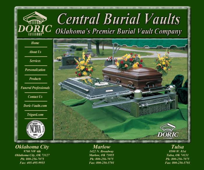 Central Burial Vaults – Oklahoma's Premier Burial Vault Company